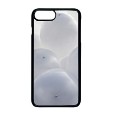 White Toy Balloons Apple Iphone 8 Plus Seamless Case (black) by FunnyCow