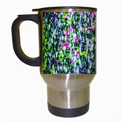 Lilacs Of The First Water Travel Mugs (white) by FunnyCow