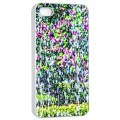 Lilacs Of The First Water Apple Iphone 4/4s Seamless Case (white) by FunnyCow