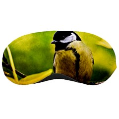 Tomtit Bird Dressed To The Season Sleeping Masks by FunnyCow