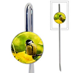Tomtit Bird Dressed To The Season Book Mark by FunnyCow