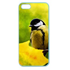 Tomtit Bird Dressed To The Season Apple Seamless Iphone 5 Case (color) by FunnyCow