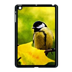 Tomtit Bird Dressed To The Season Apple Ipad Mini Case (black) by FunnyCow