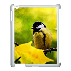 Tomtit Bird Dressed To The Season Apple Ipad 3/4 Case (white) by FunnyCow