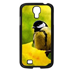 Tomtit Bird Dressed To The Season Samsung Galaxy S4 I9500/ I9505 Case (black) by FunnyCow