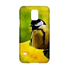 Tomtit Bird Dressed To The Season Samsung Galaxy S5 Hardshell Case  by FunnyCow