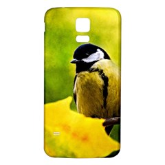Tomtit Bird Dressed To The Season Samsung Galaxy S5 Back Case (white) by FunnyCow