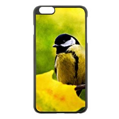 Tomtit Bird Dressed To The Season Apple Iphone 6 Plus/6s Plus Black Enamel Case by FunnyCow