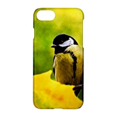 Tomtit Bird Dressed To The Season Apple Iphone 8 Hardshell Case by FunnyCow