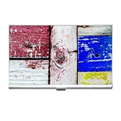 Abstract Art Of Grunge Wood Business Card Holders by FunnyCow
