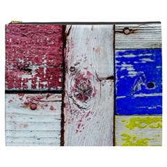 Abstract Art Of Grunge Wood Cosmetic Bag (xxxl) by FunnyCow