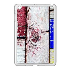 Abstract Art Of Grunge Wood Apple Ipad Mini Case (white) by FunnyCow