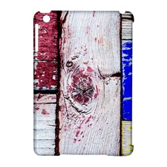 Abstract Art Of Grunge Wood Apple Ipad Mini Hardshell Case (compatible With Smart Cover) by FunnyCow