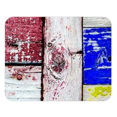 Abstract Art Of Grunge Wood Double Sided Flano Blanket (large)  by FunnyCow