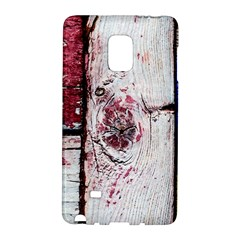 Abstract Art Of Grunge Wood Samsung Galaxy Note Edge Hardshell Case by FunnyCow