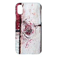 Abstract Art Of Grunge Wood Apple Iphone X Hardshell Case