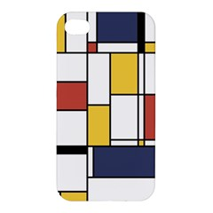 De Stijl Abstract Art Apple Iphone 4/4s Premium Hardshell Case by FunnyCow