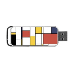 De Stijl Abstract Art Portable Usb Flash (two Sides) by FunnyCow
