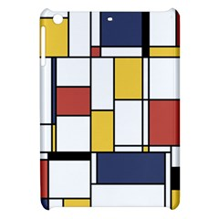 De Stijl Abstract Art Apple Ipad Mini Hardshell Case by FunnyCow