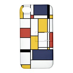 De Stijl Abstract Art Apple Iphone 4/4s Hardshell Case With Stand by FunnyCow