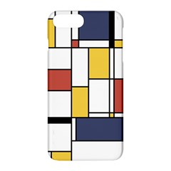 De Stijl Abstract Art Apple Iphone 8 Plus Hardshell Case by FunnyCow