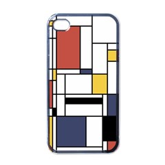 Abstract Art Of Avant Garde Apple Iphone 4 Case (black) by FunnyCow