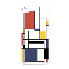 Abstract Art Of Avant Garde Apple Iphone 4 Case (white) by FunnyCow