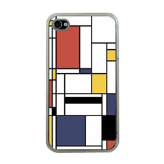 Abstract Art Of Avant Garde Apple Iphone 4 Case (clear) by FunnyCow