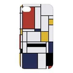 Abstract Art Of Avant Garde Apple Iphone 4/4s Premium Hardshell Case by FunnyCow