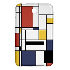Abstract Art Of Avant Garde Samsung Galaxy Tab 3 (7 ) P3200 Hardshell Case  by FunnyCow