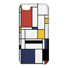 Abstract Art Of Avant Garde Apple Iphone 5c Hardshell Case by FunnyCow