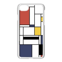 Abstract Art Of Avant Garde Apple Iphone 7 Seamless Case (white)