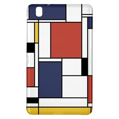 Neoplasticism Abstract Art Samsung Galaxy Tab Pro 8 4 Hardshell Case by FunnyCow