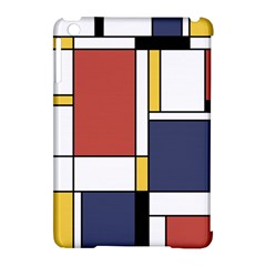 Abstract Art Of De Stijl Apple Ipad Mini Hardshell Case (compatible With Smart Cover) by FunnyCow