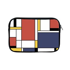 Abstract Art Of De Stijl Apple Ipad Mini Zipper Cases by FunnyCow