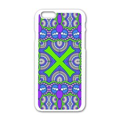 Purple Green Shapes                                  Motorola Moto E Hardshell Case by LalyLauraFLM
