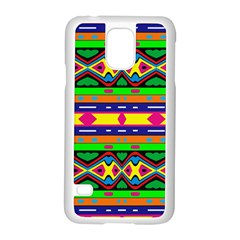 Distorted Colorful Shapes And Stripes                                   Motorola Moto G (1st Generation) Hardshell Case by LalyLauraFLM