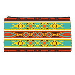 Ovals Rhombus And Squares                                    Pencil Case