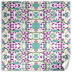 Colorful Modern Floral Baroque Pattern 7500 Canvas 12  X 12   by dflcprints
