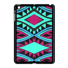 Ovals And Rhombus                                    Apple Ipad Mini Hardshell Case by LalyLauraFLM