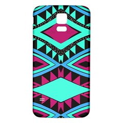 Ovals And Rhombus                                    Samsung Galaxy S5 Case (black) by LalyLauraFLM