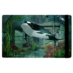 Wonderful Orca In Deep Underwater World Ipad Mini 4 by FantasyWorld7