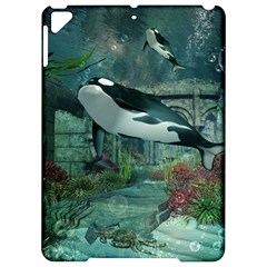 Wonderful Orca In Deep Underwater World Apple Ipad Pro 9 7   Hardshell Case by FantasyWorld7