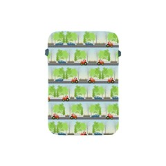 Cars And Trees Pattern Apple Ipad Mini Protective Soft Cases by linceazul
