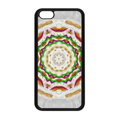 Fauna In Bohemian Midsummer Style Apple Iphone 5c Seamless Case (black) by pepitasart
