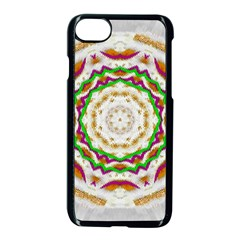 Fauna In Bohemian Midsummer Style Apple Iphone 7 Seamless Case (black) by pepitasart