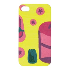 Candy Pink Hat Apple Iphone 4/4s Hardshell Case by snowwhitegirl