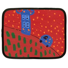 Almost Home Netbook Case (large) by snowwhitegirl