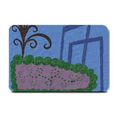 Purple Shoe Small Doormat  by snowwhitegirl