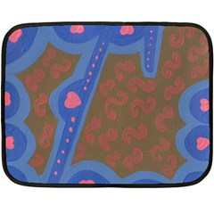 Hair Salon Floor Fleece Blanket (mini) by snowwhitegirl
